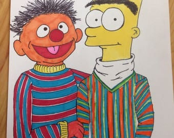 Bart and Ernie