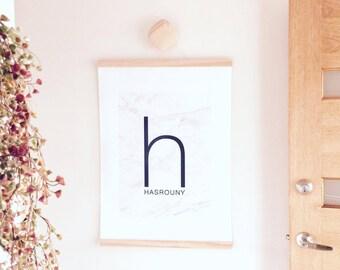 Timber Poster Hanger