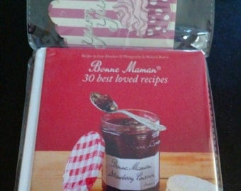 Jam recipe book with gift tags
