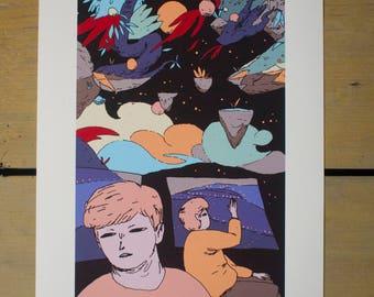 Premium giclée print - limited - edition - premium - giclée - print - original - artwork - poster