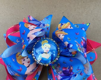 Cinderella Hair Bow