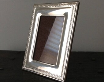 Mid century Sterling Silver Frame / Photography / Wedding / Anniversary / Antique