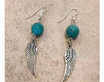"Unique Handmade Earings ""Secret Angel"""