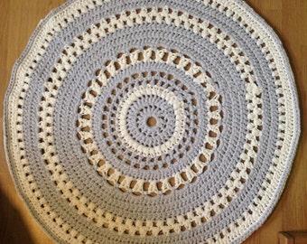 runder teppich beige haus deko ideen