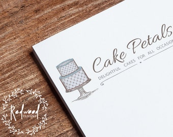 Premade Logo | Logo Design | Company Logo | Cake Logo | Bakers Logo | Caterer Logo | Baking Logo | Business Logo
