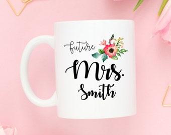 Future Mrs. Mug   Coffee Mug   Engagement Gift Mug   Bridal Shower Gift   Wedding Planning Gift   Bride Coffee Mug   Wedding Day Mug