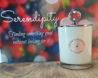 Serendipity - soy candle black raspberry