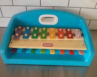 Vintage Little Tikes Xylophone - 1985 - Musical Toys - Collectible Toys - Great Shape - Let there be music!