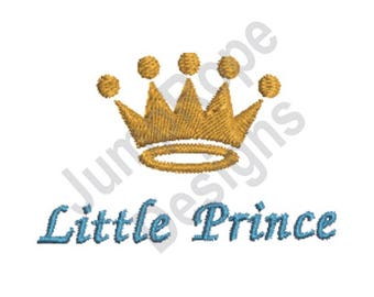 Little Prince Crown - Machine Embroidery Design