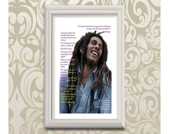 Wall Art Print, Wall Print, Art Print, Black History, African American History, Poster Print, Poetry Print, Gift, Home Decor, Decorative