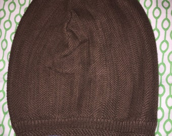 One of a kind beanie - brown