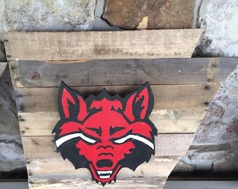 Red wolf 3D on arkansas