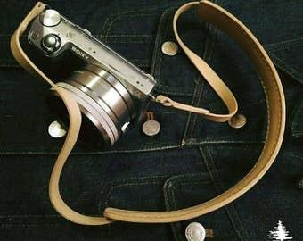 Handmade Leather camera strap