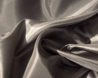 Pewter Metal Sheen Fabric