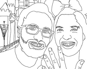 Custom Coloring Pages!