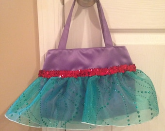 Disney Princess Ariel Inspired Purse