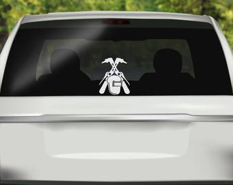 Welder Decal - Welder Life Decal - Welding -  Welding Sticker - Welder Sticker - Welder Bumper Sticker - Vinyl Decal - Car Stickers