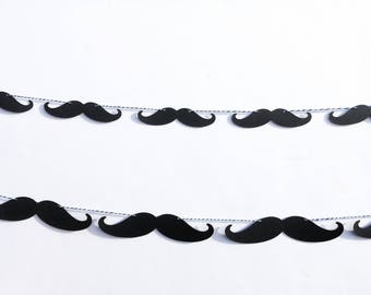 Mustache Banner | Little Gentleman Banner | Boy Baby Shower Banner | Mustache Party Decorations | Mustache Decor