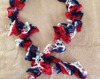 Handmade Ruffled scarves