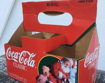 Coca-Cola Bottle Carrier (Xmas Edition)