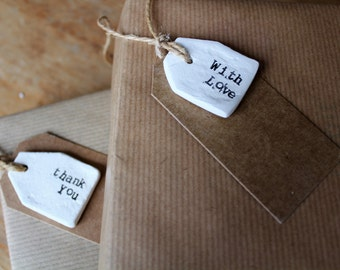 Clay | gift tags