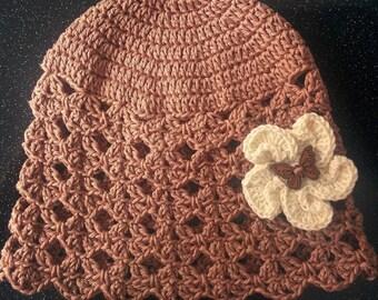 Wooden Butterfly Hat