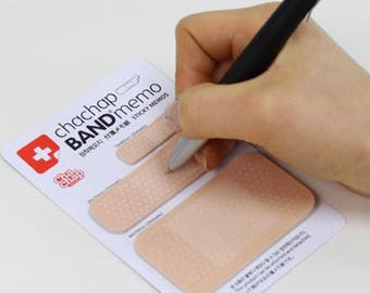 Chapchap Bandage Memo Sticky Notes ~ Nurse Hospital Memo Pads, Scrapbooking, Bandaid Stickers, Decorative Notes, Kawaii Stationery Post it