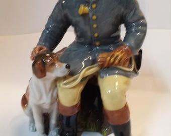 Figure Hunter English porcelain