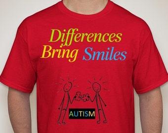 Autism T shirt  Adult Sized