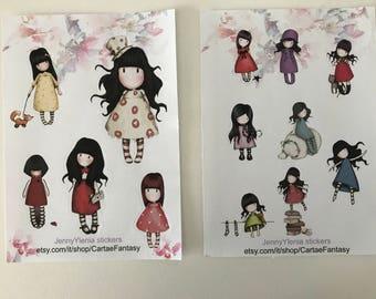 Gorjuss Stickers