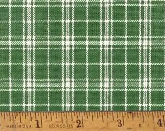 "Granny Green 4 Homespun Cotton Fabric (Full Yard 36"" x 44"")"