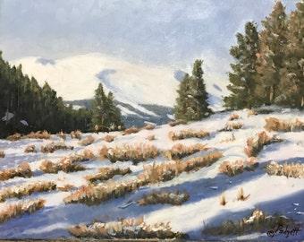 Snowlight - Mt. Massive