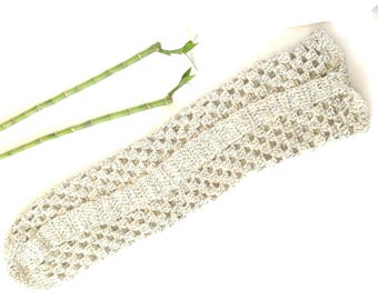 Yoga Mat bag, recycled denim yarn, eco friendly, handmade crochet, yoga mat tote, yoga accessories, yogi, yoga gift, namaste, gift for her