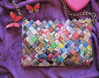 Handmade Hand Bag (Multicolour)