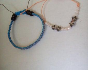 Single or couple's braided bracelets
