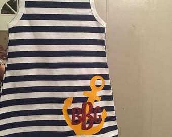 Sailor dress size 4/5