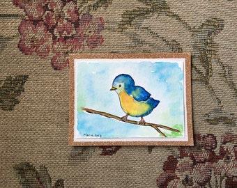 Bird Card // Greeting Card