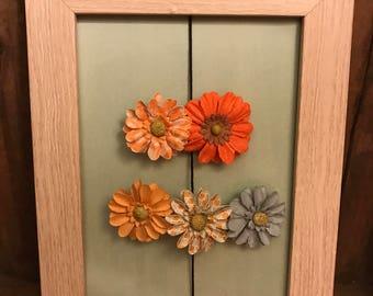 Floral Barrettes