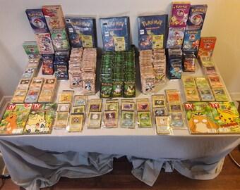 Original Pokemon Trading Cards (105 card lot)