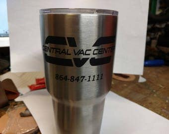 Company Cups (Central Vac Center)