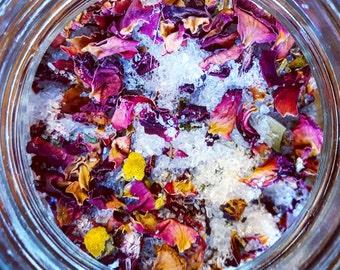 Organic Rose & Eucalyptus Bath Salts