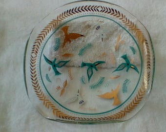 Georges Briard Bird of Paradise Trinket Tray