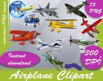 Airplane Clipart - Digital 300 DPI PNG Images,airplane clipart ,plane clipart,clipart airplane,cartoon airplane,clipart plane,clip art
