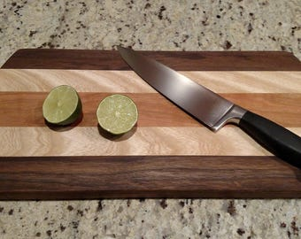 Custom Hardwood Cutting Board (large)