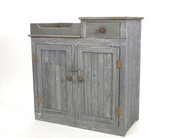 Brassfield Original Custom Drysink From Recycled Barnwood - FREE SHIPPING