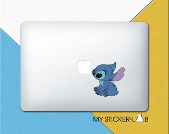 Lilo and Stitch MacBook Decal Stitch MacBook Sticker Lilo And Stitch Sticker Lilo and Stitch Decal Disney Sticker Kids Laptop Vinyl cmac014