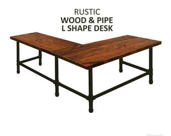 Corner Desk Etsy