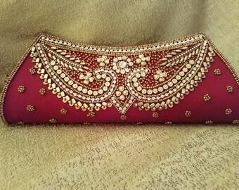 SALE SALE SALE Red Clutch & Evening Bag