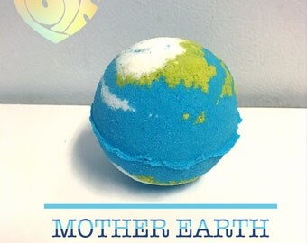 Mother Earth Bubbly Bath Bomb