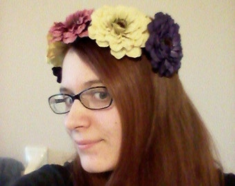 Spring Mum Crown